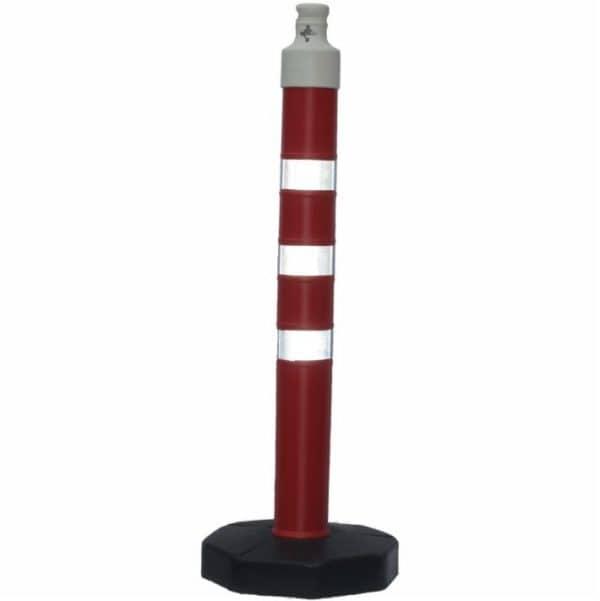 Пластмасово стълбче с тежка основа